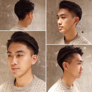 刈り上げ メンズショート メンズ メンズヘア ヘアスタイルや髪型の写真・画像
