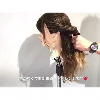ロング オフィス 上品 エレガント ヘアスタイルや髪型の写真・画像
