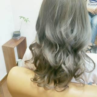 グラデーションカラー ロング ストリート 大人かわいい ヘアスタイルや髪型の写真・画像 ヘアスタイルや髪型の写真・画像