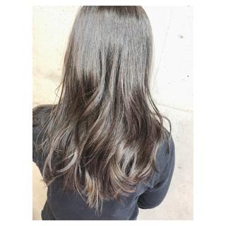 ヘアアレンジ 透明感 セミロング ナチュラル ヘアスタイルや髪型の写真・画像