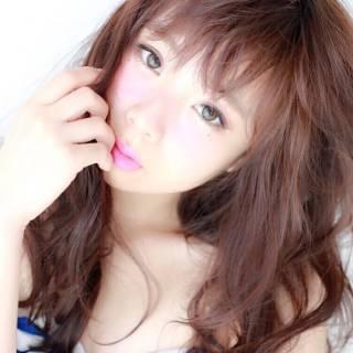 ロング かわいい ゆるふわ 愛され ヘアスタイルや髪型の写真・画像