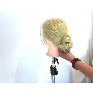 ロング 色気 ヘアアレンジ フェミニン ヘアスタイルや髪型の写真・画像 ヘアスタイルや髪型の写真・画像