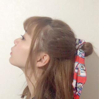 前髪あり ヘアアレンジ ガーリー ショート ヘアスタイルや髪型の写真・画像 ヘアスタイルや髪型の写真・画像