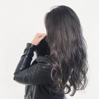 グラデーションカラー ストリート 外国人風カラー ロング ヘアスタイルや髪型の写真・画像 ヘアスタイルや髪型の写真・画像