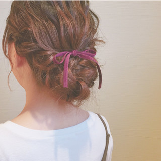 ゆるふわ デート ガーリー モテ髪 ヘアスタイルや髪型の写真・画像