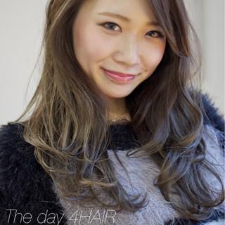 アンニュイ フェミニン グラデーションカラー 愛され ヘアスタイルや髪型の写真・画像