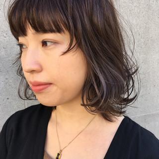 マッシュ ミディアム ストリート ダブルカラー ヘアスタイルや髪型の写真・画像
