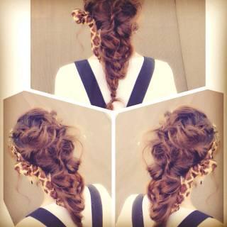 ブライダル 簡単ヘアアレンジ ロング ヘアアレンジ ヘアスタイルや髪型の写真・画像