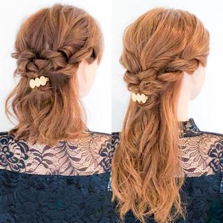 ショート エレガント ロング ヘアアレンジ ヘアスタイルや髪型の写真・画像