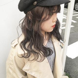 インナーカラー ハイトーン ハイトーンカラー ハイライト ヘアスタイルや髪型の写真・画像
