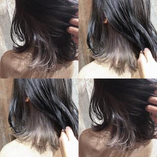 ナチュラル 外国人風カラー ダブルカラー グラデーションカラー ヘアスタイルや髪型の写真・画像