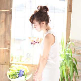 フェミニン 透明感 大人かわいい 愛され ヘアスタイルや髪型の写真・画像