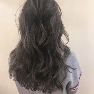 アンニュイ ゆるふわ デート ロング ヘアスタイルや髪型の写真・画像
