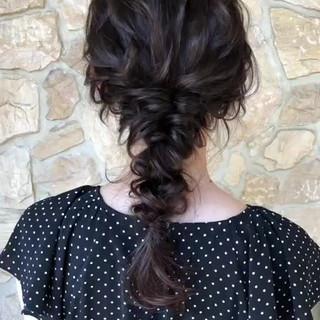 大人かわいい アンニュイ ヘアアレンジ ナチュラル ヘアスタイルや髪型の写真・画像