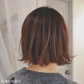 デート フェミニン ボブ ゆるふわ ヘアスタイルや髪型の写真・画像 ヘアスタイルや髪型の写真・画像