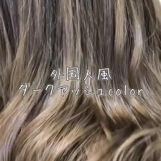 外国人風フェミニン 外国人風 ロング 外国人風カラー ヘアスタイルや髪型の写真・画像