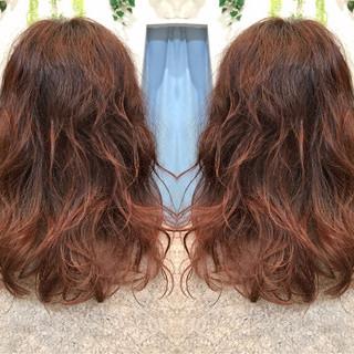 波ウェーブ ナチュラル ウェーブ ミディアム ヘアスタイルや髪型の写真・画像 ヘアスタイルや髪型の写真・画像