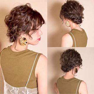 上品 編み込み エレガント ハイライト ヘアスタイルや髪型の写真・画像 ヘアスタイルや髪型の写真・画像