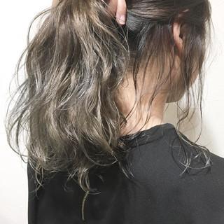 ナチュラル アウトドア 簡単ヘアアレンジ ロング ヘアスタイルや髪型の写真・画像