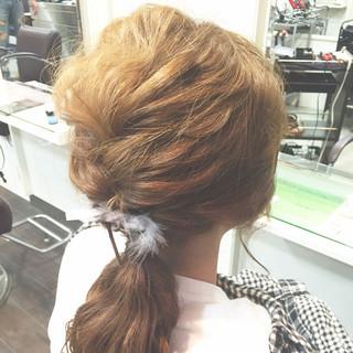ショート 夏 ヘアアレンジ 結婚式 ヘアスタイルや髪型の写真・画像