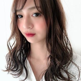 ミディアム デート 女子力 大人かわいい ヘアスタイルや髪型の写真・画像