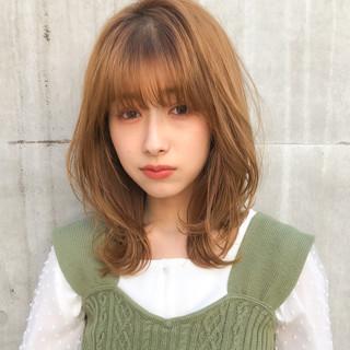 フェミニン 大人ミディアム ミディアムヘアー ミディアム ヘアスタイルや髪型の写真・画像