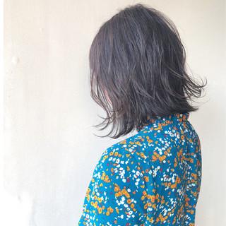 女子力 デート 外ハネ ナチュラル ヘアスタイルや髪型の写真・画像