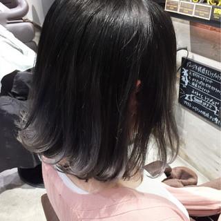 ハイライト グレージュ 外国人風 ストリート ヘアスタイルや髪型の写真・画像