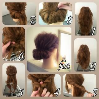 ショート ねじり ヘアアレンジ 簡単ヘアアレンジ ヘアスタイルや髪型の写真・画像
