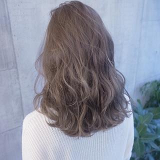 ショート 外国人風 ミディアム ストリート ヘアスタイルや髪型の写真・画像