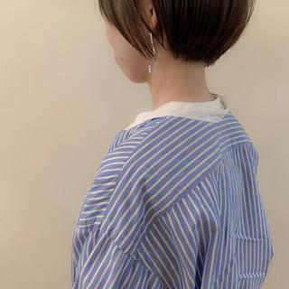 ショート ベリーショート ナチュラル ショートヘア ヘアスタイルや髪型の写真・画像