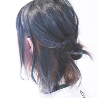 アッシュ ダブルカラー ボブ グラデーションカラー ヘアスタイルや髪型の写真・画像 ヘアスタイルや髪型の写真・画像