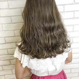 サイエンスアクア ナチュラル デート ハイライト ヘアスタイルや髪型の写真・画像