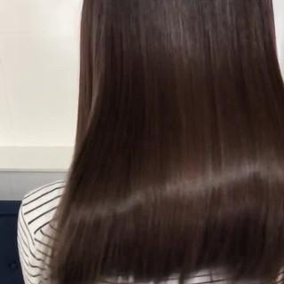 ヘアケア ナチュラル ロング ヘアカラー ヘアスタイルや髪型の写真・画像 ヘアスタイルや髪型の写真・画像