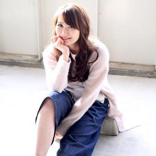 フェミニン ガーリー 抜け感 大人かわいい ヘアスタイルや髪型の写真・画像