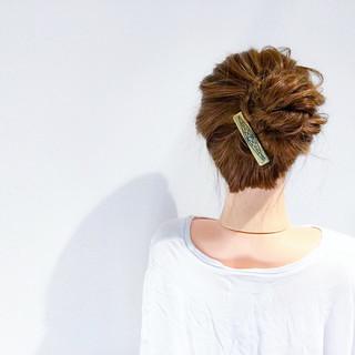 アウトドア 結婚式 デート エレガント ヘアスタイルや髪型の写真・画像