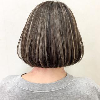 外国人風 ボブ 上品 透明感 ヘアスタイルや髪型の写真・画像