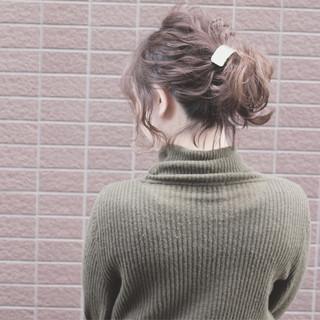 小顔 色気 フェミニン 大人女子 ヘアスタイルや髪型の写真・画像