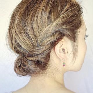 ミディアム ショート グラデーションカラー ハイライト ヘアスタイルや髪型の写真・画像