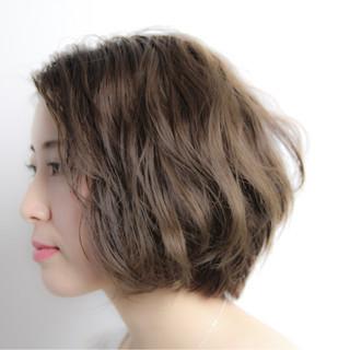 ナチュラル かわいい パーマ エレガント ヘアスタイルや髪型の写真・画像