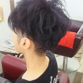 坊主 黒髪 ショート ナチュラル ヘアスタイルや髪型の写真・画像