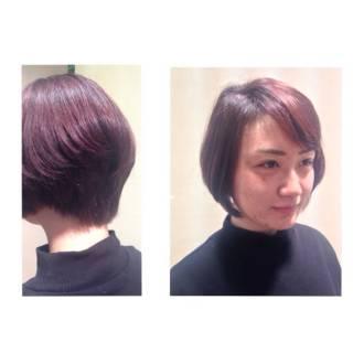 春 愛され モテ髪 ショート ヘアスタイルや髪型の写真・画像
