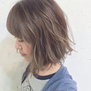 グラデーションカラー ハイライト 外国人風 ピュア ヘアスタイルや髪型の写真・画像
