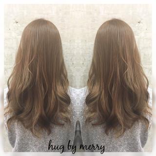 フェミニン ハイライト 大人かわいい ガーリー ヘアスタイルや髪型の写真・画像