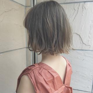 ハロウィン 大人かわいい ボブ ナチュラル ヘアスタイルや髪型の写真・画像