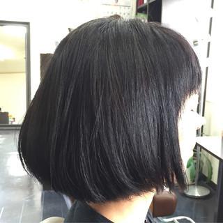 黒髪 ナチュラル 色気 ボブ ヘアスタイルや髪型の写真・画像 ヘアスタイルや髪型の写真・画像