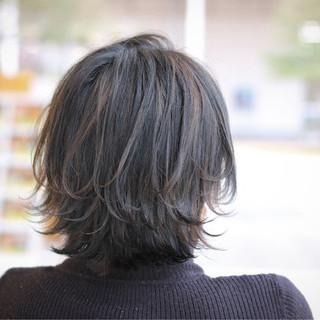 ショート 外ハネ 外国人風 ストリート ヘアスタイルや髪型の写真・画像