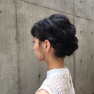 編み込み デート 大人かわいい ボブ ヘアスタイルや髪型の写真・画像 ヘアスタイルや髪型の写真・画像