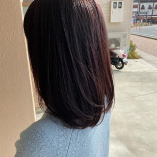 中山寺 ナチュラル レイヤーボブ レイヤースタイル ヘアスタイルや髪型の写真・画像