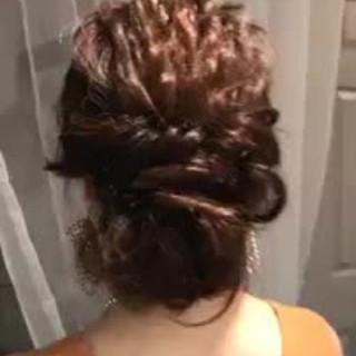 夏 ヘアアレンジ ロング デート ヘアスタイルや髪型の写真・画像